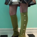 Spat-style Leg Warmers