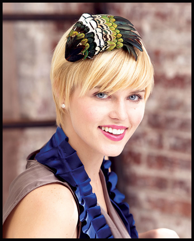 Feather Fascinator Headband