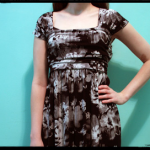Interlock Knit Dress (made from rectangles!)